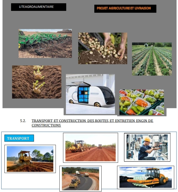 projet agroalimentaire